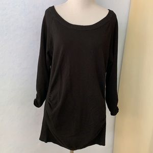 89th & Madison Black Maternity Sweater